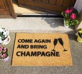 CKB - Deurmat - Kom nog eens en neem Champagne mee - Kokosmat