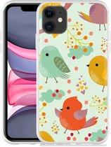 Apple iPhone 11 Hoesje Cute Birds