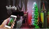 Twinkly kleurrijke kerstverlichting 8 meter (56 LED-lampjes) met mobiele app