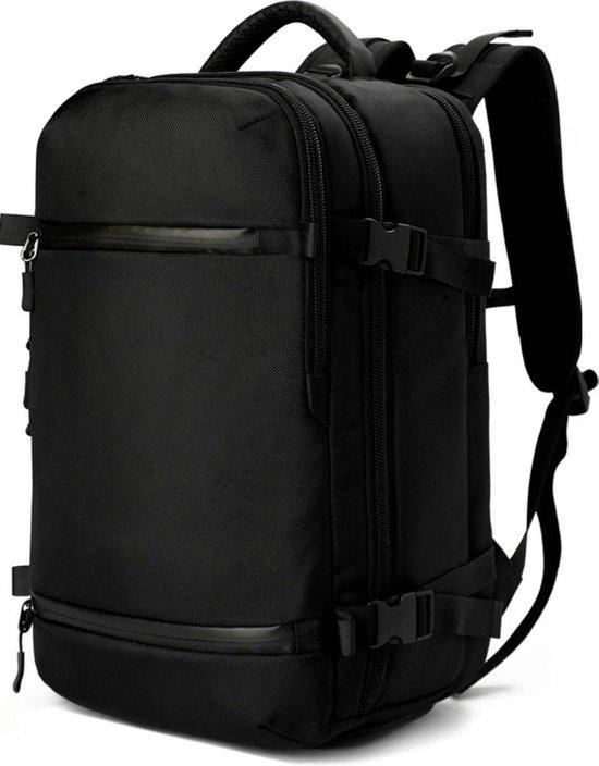 Afbeelding van Omnistow - Handbagage rugzak - 51x33x20cm - Cabin approved backpack - Zwart