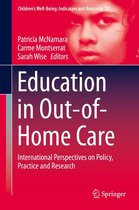 Omslag Education in Out-of-Home Care