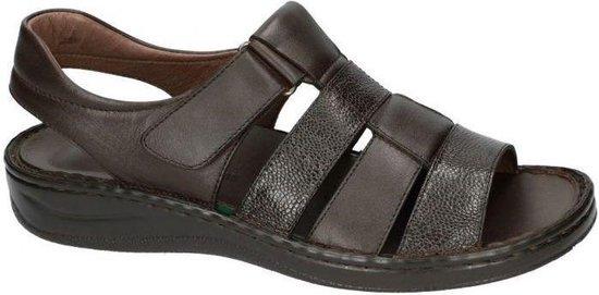 Fbaldassarri -Heren -  bruin donker - sandaal - maat 45