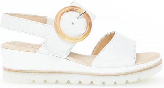 Gabor Best Fitting Witte Sandalen Dames 37 UoZYoExp