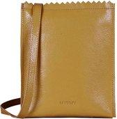 MYOMY Crossbodytas MY PAPER BAG Baggy Medium Geel
