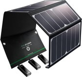 RAVPower 24W Zonnepaneel oplader met 3 USB poorten RP-PC005