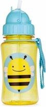 Skip Hop Zoo Drinkbeker - Met Rietje - 350 ml - Bij