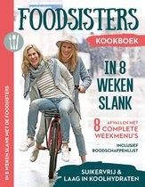 Boekomslag van 'In 8 weken slank - Foodsisters'