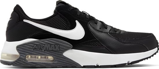 Nike Air Max Excee Heren Sneakers - Black/White-Dark Grey - Maat 44