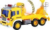 Wonky Cars Cementwagen met licht en geluid