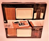 Sushi Set - 2 Persoons 10 Delig - Excellent Houseware - Multi