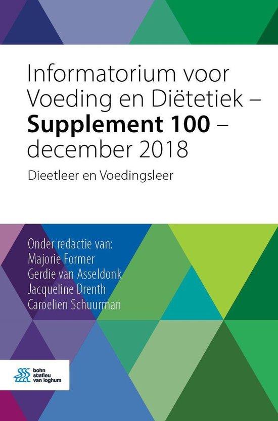 Informatorium voor Voeding en Diëtetiek - Supplement 100 - december 2018 - none |
