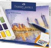 Faber-Castell - Waterverf in box - 24 kleuren