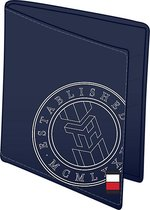 Tommy Hilfiger - Casual leather bifold print - portemonnee heren - sky captain