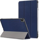 iPad Pro 11 (2020) Hoes – Tri-Fold Book Case – Slim – Magnetisch - Apple - Blauw
