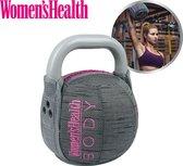 Women's health soft kettlebell, 6 kg – perfect voor intensieve cardio- en krachttraining