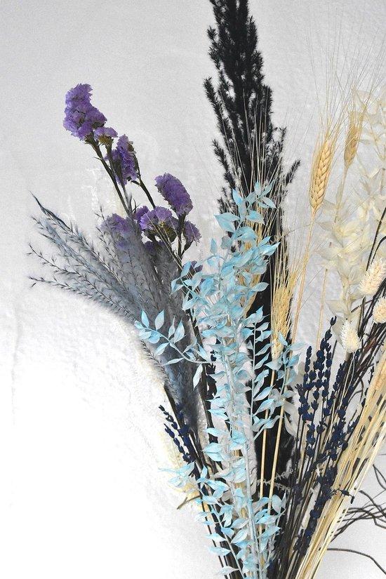 Droogbloemen | Boeket Blauw| Dried flowers