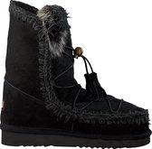 Mou Dames Vachtlaarzen Eskimo Dream Catcher Lace Up - Zwart - Maat 37