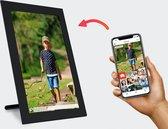 Kiki&Co Digitale fotolijst met WiFi - 10 inch - Zwart