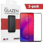 2-pack BMAX Glazen Screenprotector Xiaomi Mi 9T Pro Full Cover Glas / Met volledige dekking / Beschermglas / Tempered Glass / Glasplaatje