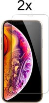Apple iPhone X Screenprotector Glas - Apple iPhone XS Screenprotector Glas - Apple iPhone 11 Pro Screen Protector Glas - 2x Apple iPhone 10 Screen Protector