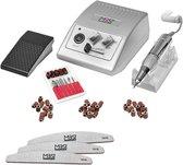 JD500 zilver - Manicure-en pedicureset - Zilver