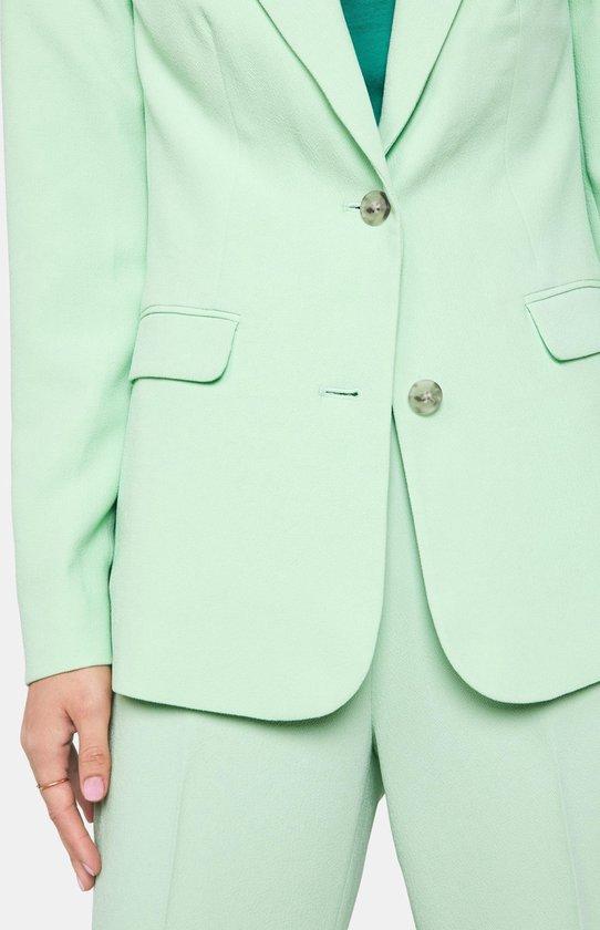 WE Fashion Dames blazer van crêpe kwaliteit