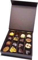Bonbons ambachtelijk 16 stuks - Chocoladebox