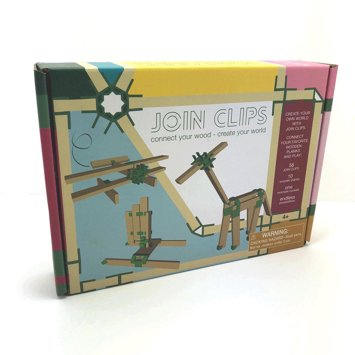 bol.com | JOIN CLIPS 56-10 mini set! verbinding clips voor houten  bouwplankjes