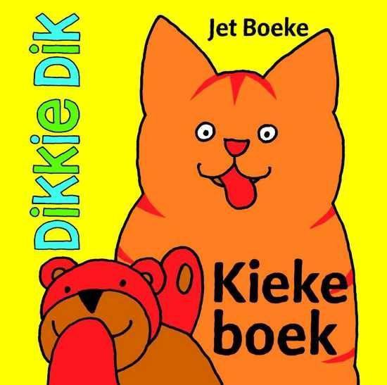 Boek cover Dikkie Dik  -   Kiekeboek van Jet Boeke