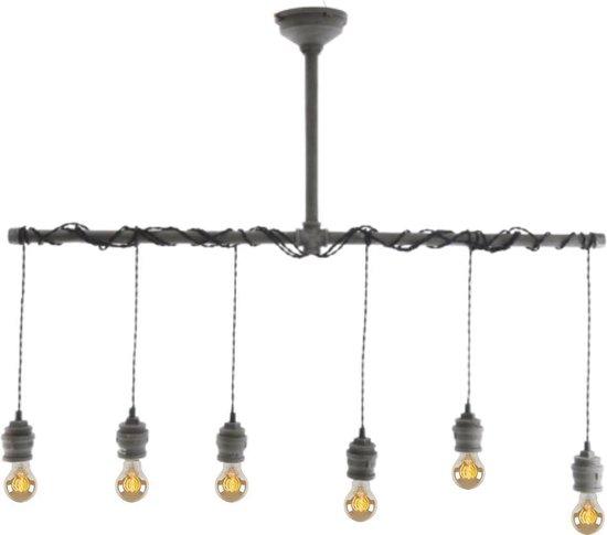 Bol Com Lumineo Hanglamp Hanglamp Industrieel Hanglampen Eetkamer Industrieel Beton