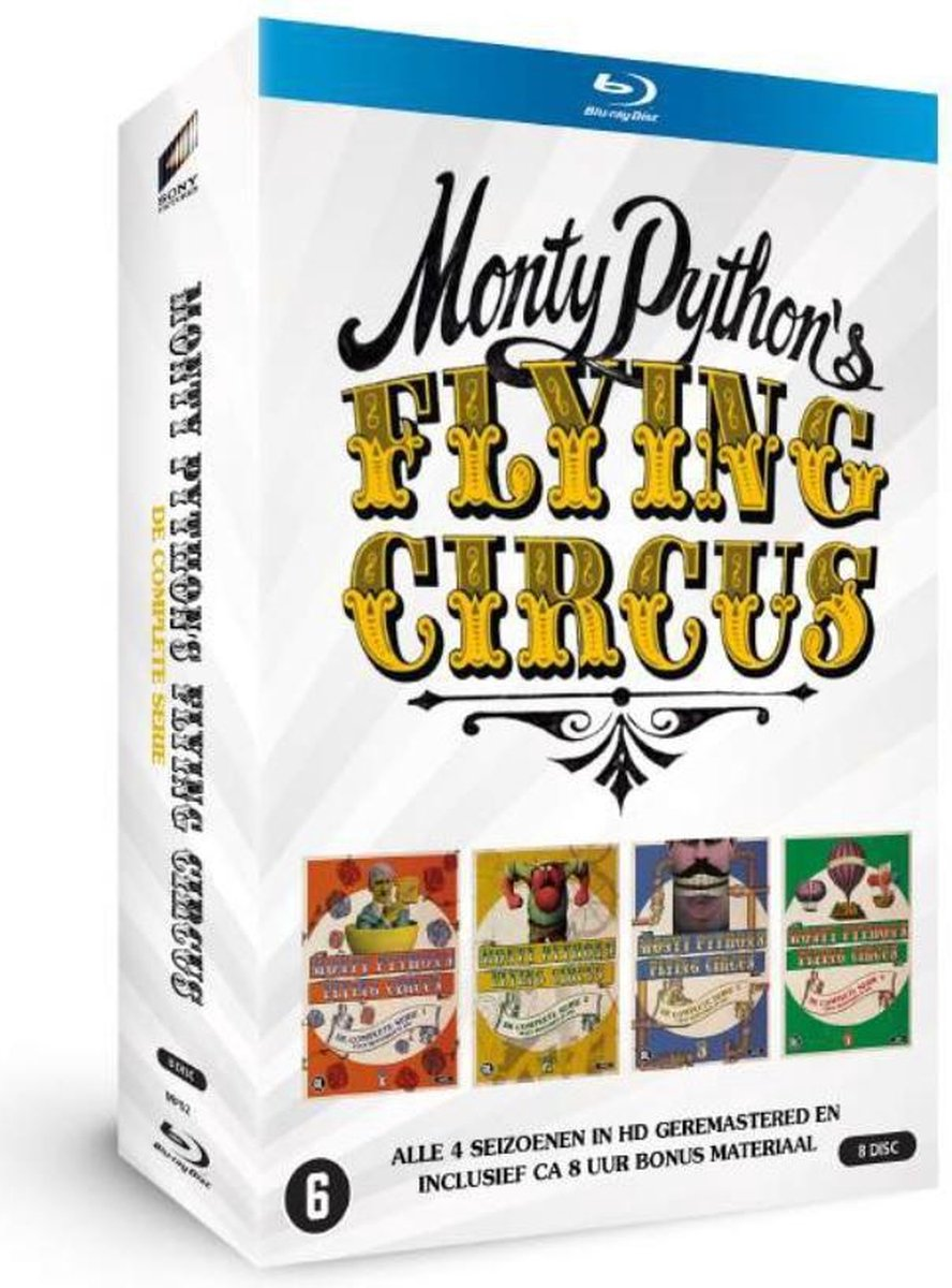 MONTY PYTHON'S FLYING CIRCUS (BD) kopen