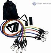 Fitness elastiek set - Workout Elastiek - Home Tra