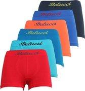 microfiber boxers van Belucci (6pack) maat 122/140