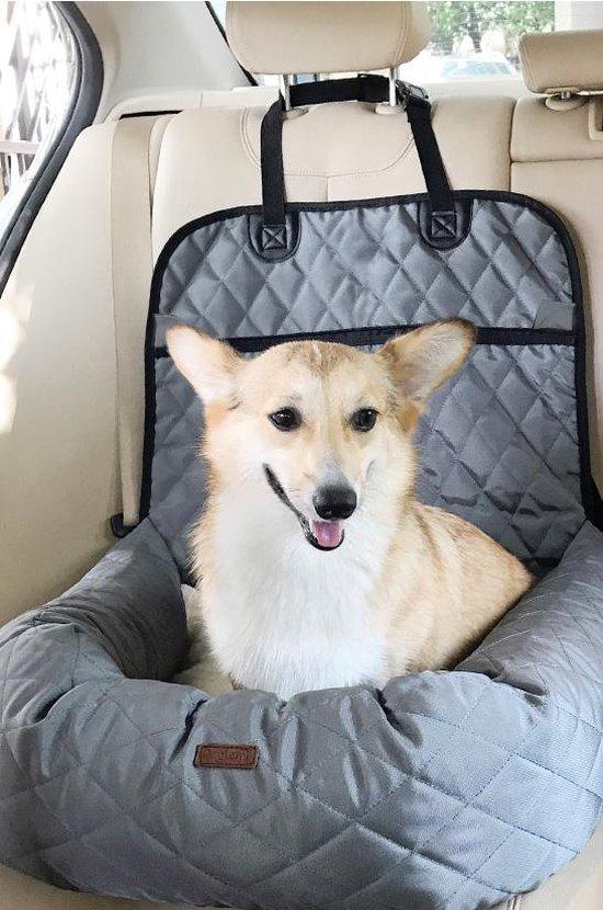 Bol Com Zeer Luxe Hondenmand Voor In De Auto Comfortabel Vervoer Voor Je Viervoeter Honden