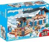 PLAYMOBIL Family Fun Skihut  - 9280
