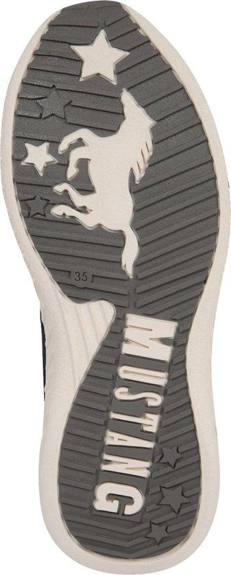 Mustang Sneakers Kinder Schnürhalbschuh Navy-36 XsztE0