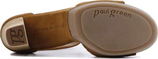 Paul Green Vrouwen Sandalen - 6938 Sue Cognac Maat 39 Nqnooq