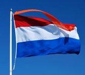 Vlag Nederland 150x225 cm. Nederlandse vlag 150x225 cm (Premium kwaliteit!)