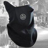 Fleece Skimasker | Sjaal Bandana | Nekwarmer | Face Mask | Gezichtsmasker | Colsjaal | Wintersport | Skiën | Snowboarden | Motorrijden | Scooter rijden | Wielrennen | Mountainbiken |  Thermo Winddicht | Zwart | DECEMBER ACTIE!