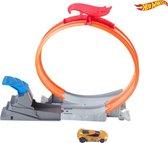 Hot Wheels - Action Loop Star -  Stunt Set - Raceauto - Goud-Geel - Van Mattel