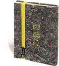 Arbos Notitieboek Blanco A6 Gerecycled Papier Geel