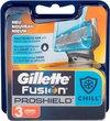 Gillette Fusion Proshield Chill Scheermesjes