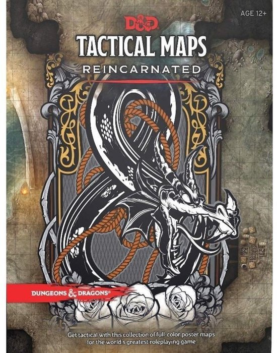 Afbeelding van Dungeons & Dragons Tactical Maps Reincarnated (D&D Accessory)