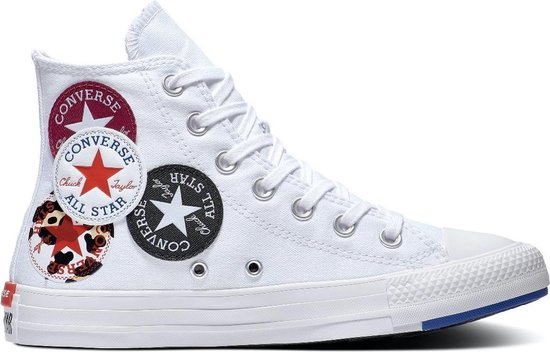 Converse Dames Hoge sneakers Chuck Taylor All Star Multi Lo Wit Maat 37