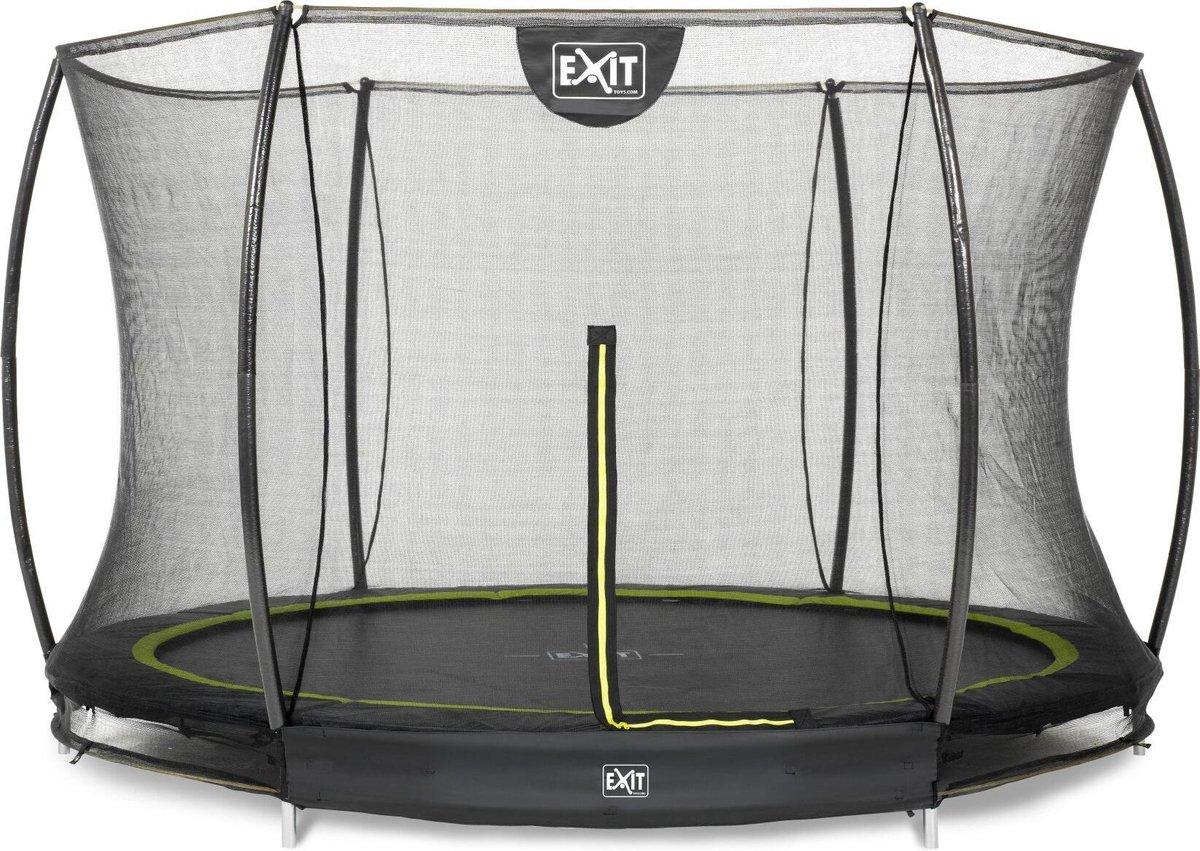 Inground trampolineEXIT Silhouette - ø305cm+net