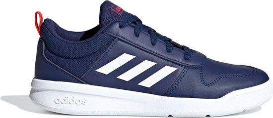 adidas Tensaurus K Sneakers - Maat 36 - Unisex - donker blauw/ wit/ rood