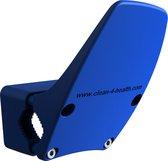 Deuropener - Deur openen zonder handen te gebruiken - Voor deurklink en deurkruk - Hygiënisch deurbeslag - Blauw