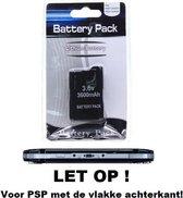 PSP Batterij accu voor 2000 & 3000 serie 3600mAh