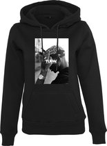 Dames Hoodie Ladies 2Pac F*ck the World Hoody zwart