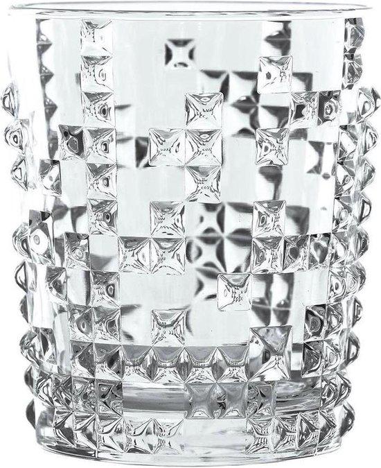 Nachtmann Punk Whiskyglas 348 ml, set à 4 stuks